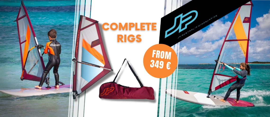 JP Australia complete rigs