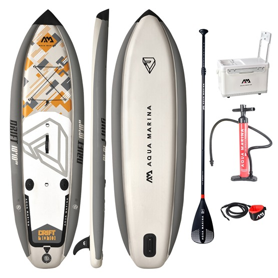 AQUA MARINA Inflatable SUP board Drift 10'10 (330cm - 284l) + paddle