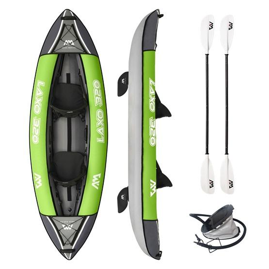 AQUA MARINA Inflatable kayak Laxo 2-person