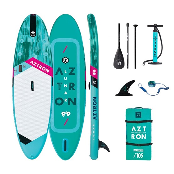 AZTRON Inflatable SUP board LUNAR 9'9 Double chamber