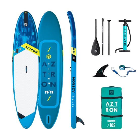 AZTRON Inflatable SUP board TITAN 11'11
