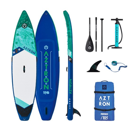 AZTRON Inflatable SUP board URONO 11'6 Double chamber