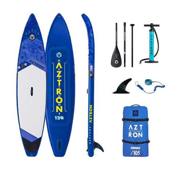 AZTRON Inflatable SUP board NEPTUNE 12'6