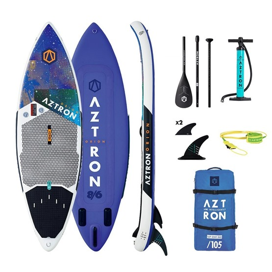 AZTRON Inflatable SUP board Orion 8'6 Double chamber