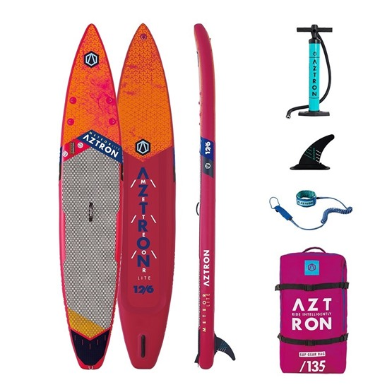 AZTRON Inflatable SUP board Meteor Lite 12'6 Double chamber