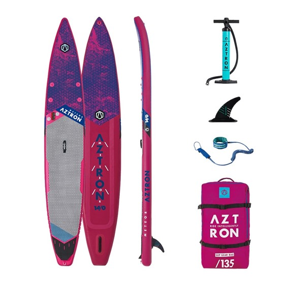 AZTRON Inflatable SUP board METEOR 14'0 Double chamber