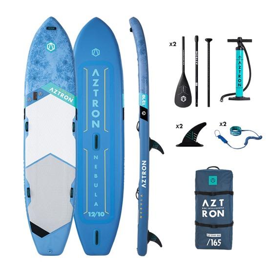 AZTRON Inflatable SUP board NEBULA 12'10