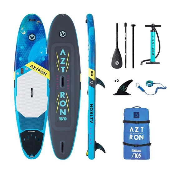 AZTRON Inflatable WindSUP board Soleil 11'0 Double chamber