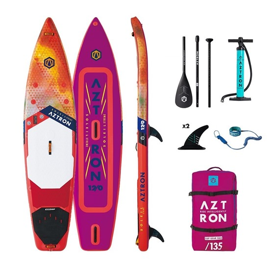 AZTRON Inflatable WindSUP board Xtreme Soleil 12'0 Double chamber