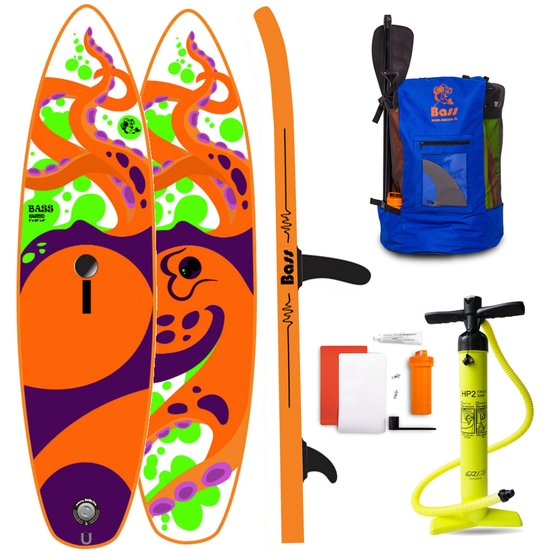 BASS Inflatable SUP Board WindSUP 9'
