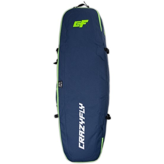 CRAZYFLY Kitesurf Quiver Golf Bag Roller 150x45 cm with wheels
