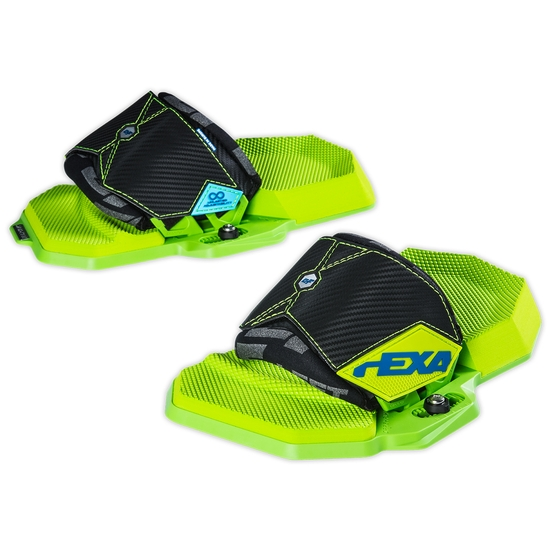 CRAZYFLY Bindings HEXA LTD NEON 2019 (pair)