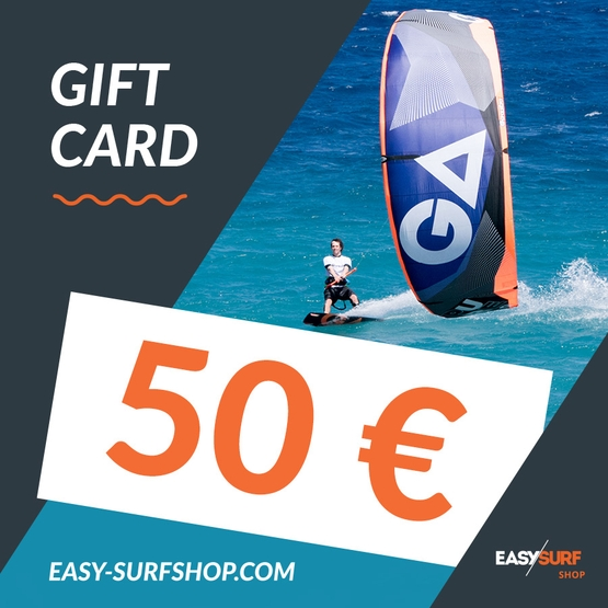 EASY SURF Gift Card 50 €