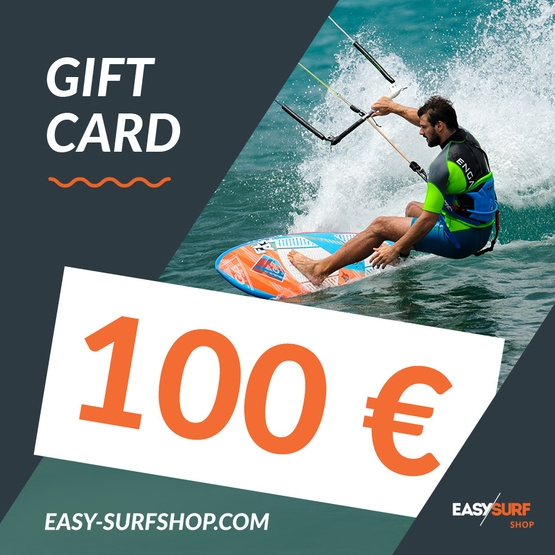 EASY SURF Gift Card 100 €