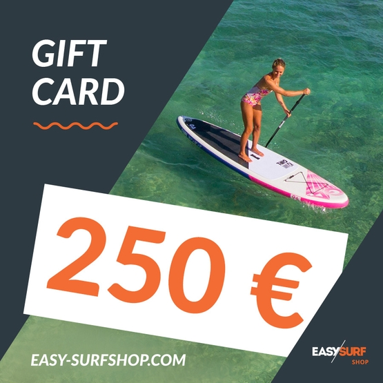 EASY SURF Gift Card 250 €