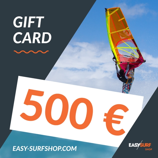 EASY SURF Gift Card 500 €
