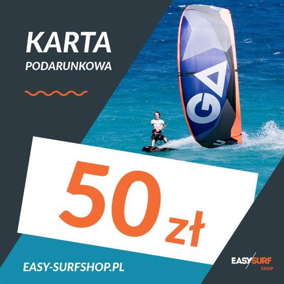 Karta Podarunkowa EASY SURF 50 zł