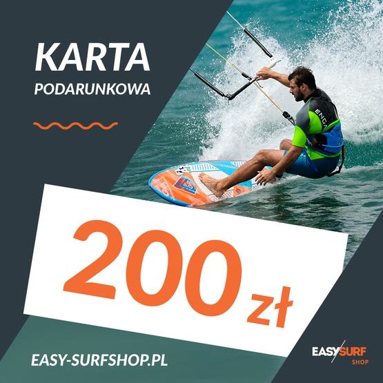 Karta Podarunkowa EASY SURF 200 zł