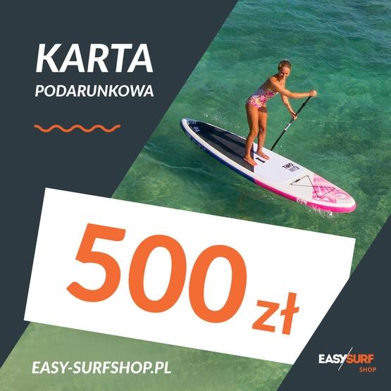 Karta Podarunkowa EASY SURF 500 zł