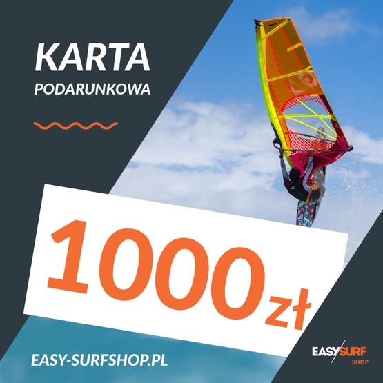 Karta Podarunkowa EASY SURF 1000 zł