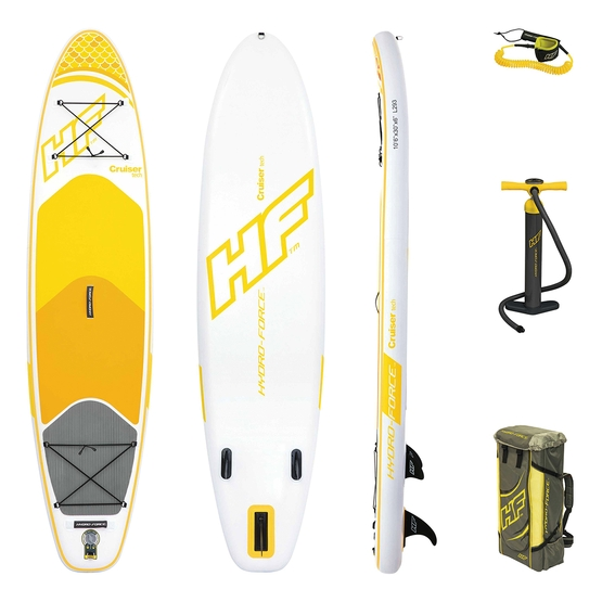HYDRO FORCE Inflatable SUP board CRUISER TECH 10'6