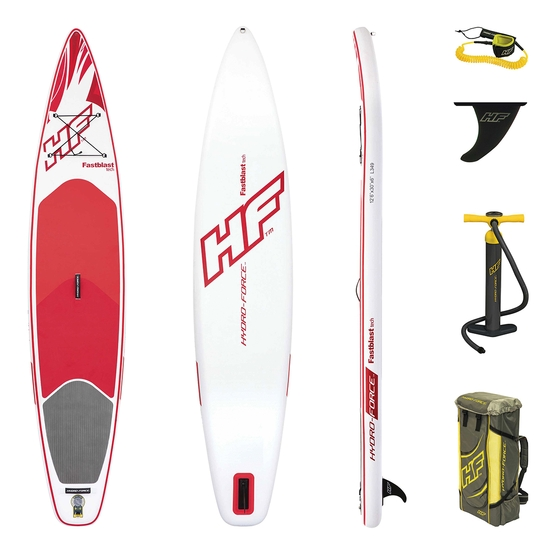 HYDRO FORCE Inflatable SUP board FASTBLAST TEC 12'6