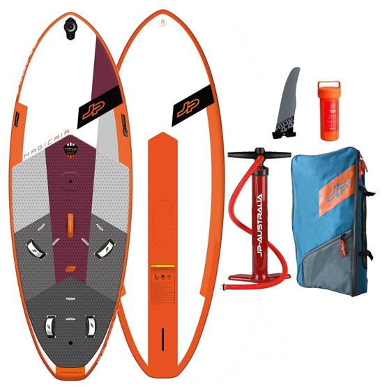 JP AUSTRALIA Pompowana deska windsurfingowa Magic Air 150 LE 3SD