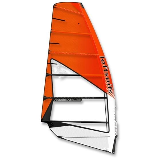 LOFTSAILS Windsurf Sail Raceboardblade 9.5 Orange