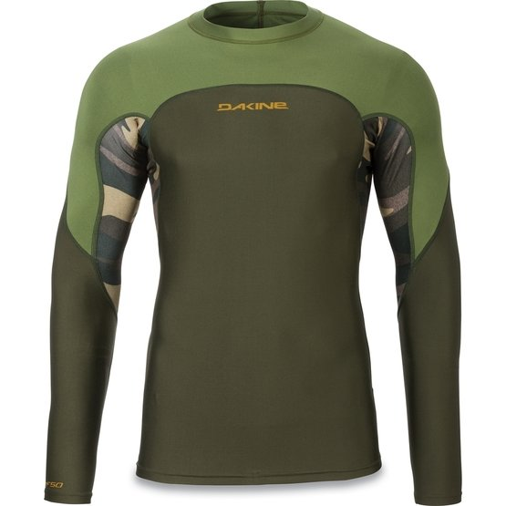 DAKINE Rashguard Wrath Snug Fit L/S Field Camo