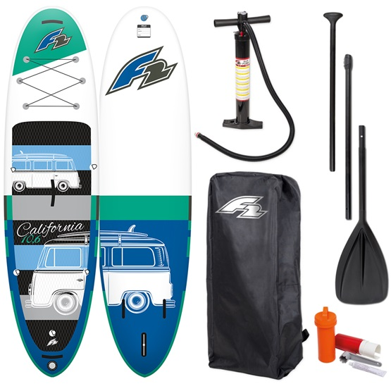 F2 Inflatable SUP board California (HFT technology)