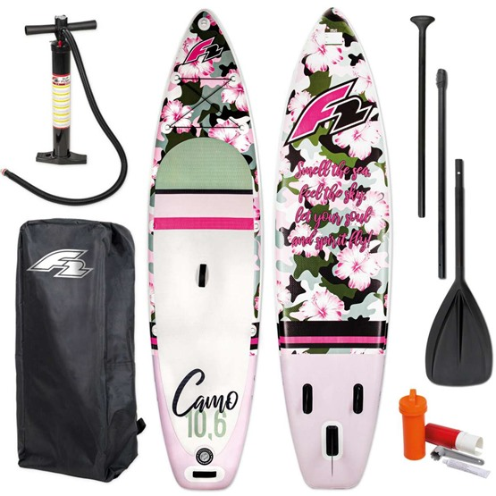 F2 Inflatable SUP board Camo