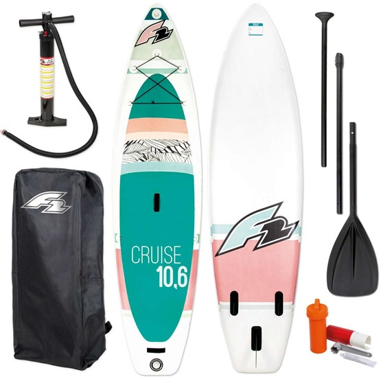 F2 Inflatable SUP board Cruise women