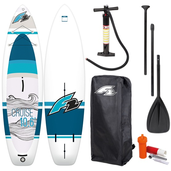 F2 Inflatable WindSUP board Cruise windsurf HFT + paddle
