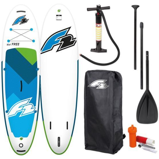 F2 Inflatable SUP board Free + paddle