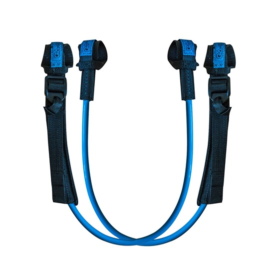 GAASTRA Harness lines FIXED ADJUSTABLE (Blue)