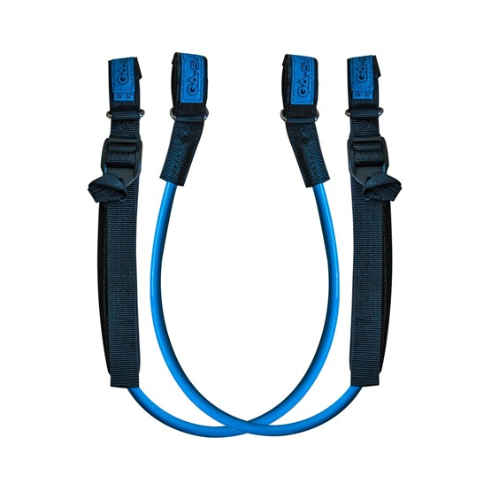 GAASTRA Harness lines QUICK ADJUSTABLE (Blue)