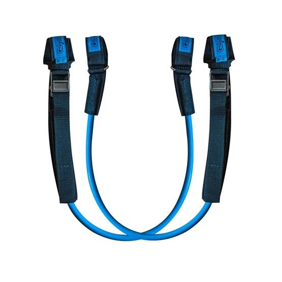 GAASTRA Harness lines RACE ADJUSTABLE (Blue)