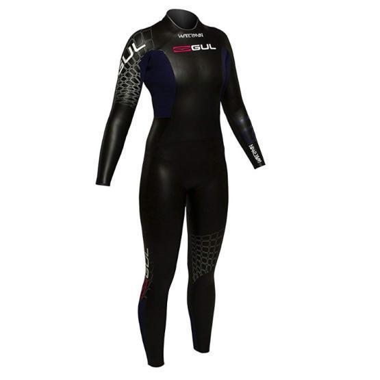 GUL Womens Wetsuit Waterman Triathlon 5/4mm