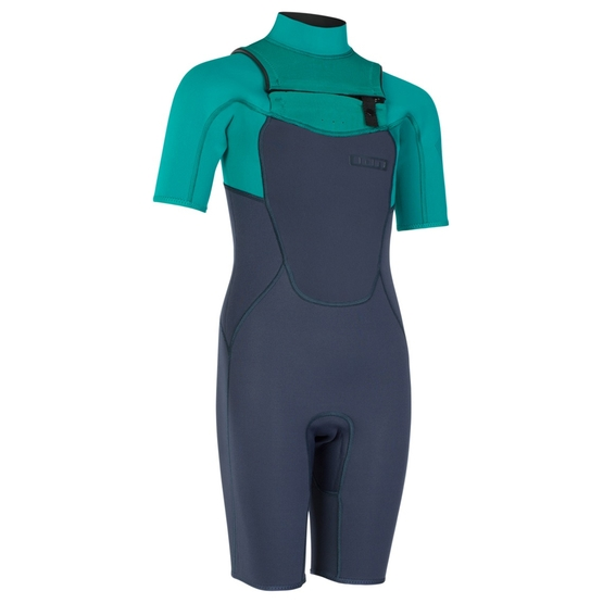 ION Juniors Wetsuit CAPTURE SHORTY 2/2 FRONTZIP 2019