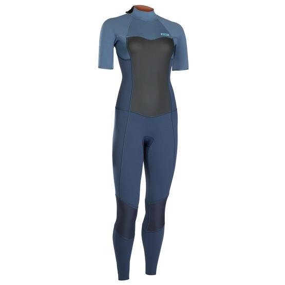 ION Womens Wetsuit JEWEL ELEMENT STEAMER short sleeve 3/2 BACKZIP 2019