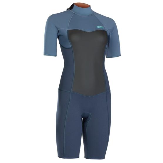 ION Womens Wetsuit JEWEL ELEMENT SHORTY short sleeve 2/2 BACKZIP 2019