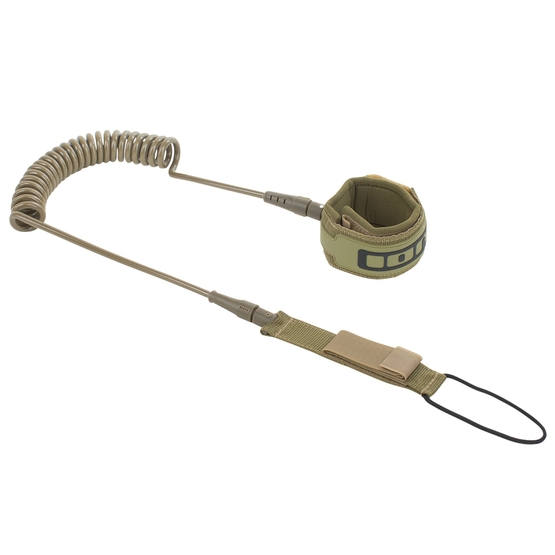 ION SUP Leash Core coiled olive 2020