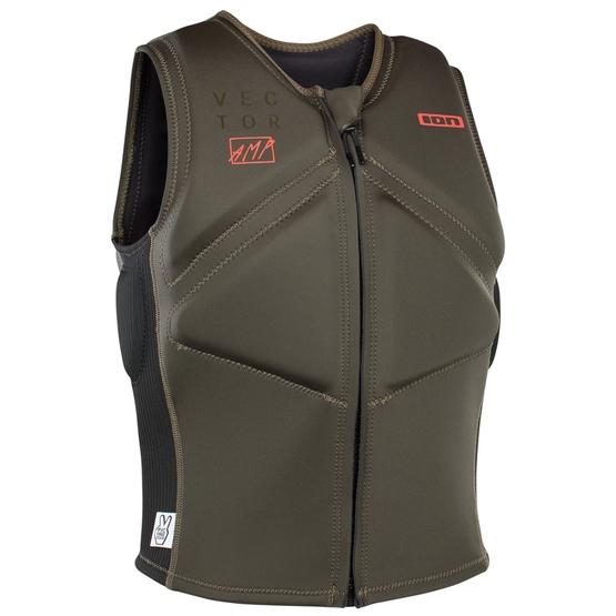 ION Impact vest Vector Amp FZ dark olive/black 2020