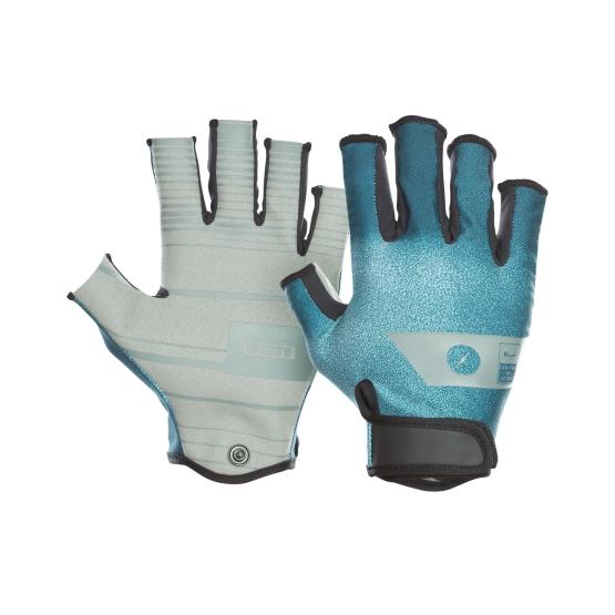 ION Gloves Amara Half Finger teal 2021