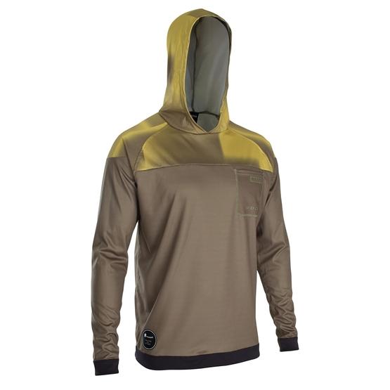 ION Mens wetshirt Hood LS dark olive 2020