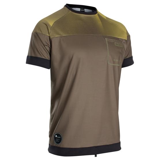 ION Mens wetshirt SS dark olive 2020