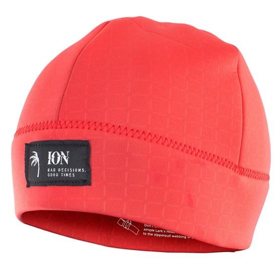 ION 2021 - Czapka Neopranowa Logo - red