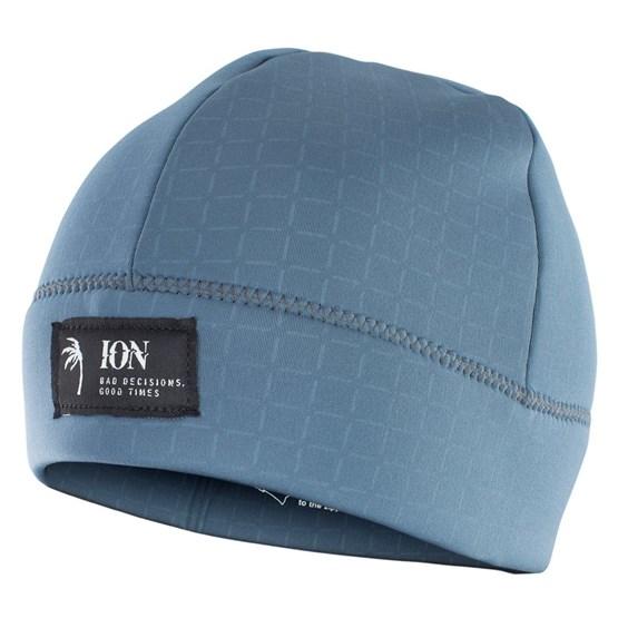 ION 2021 - Czapka Neoprenowa Logo - steel blue