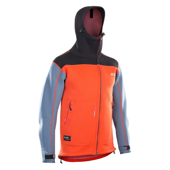 ION 2021 - Neo Shelter Jacket Amp - red/steel blue/black