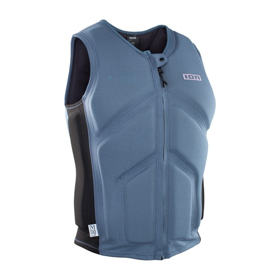 ION 2021 -Vest Collision Core FZ - steel blue/black